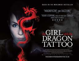 poster girl with dragon tattoo