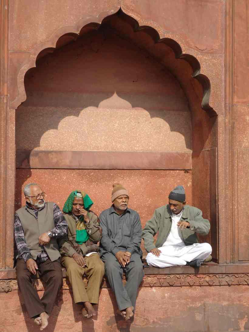 An afternoon at the Jama Masjid, Old Delhi