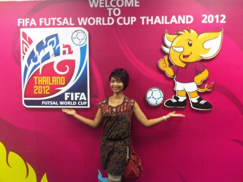 Logo dan maskot Fifa Futsal World Cup 2012