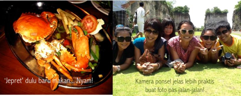 Jalan-jalan dan makan-makan... dan foto-foto!