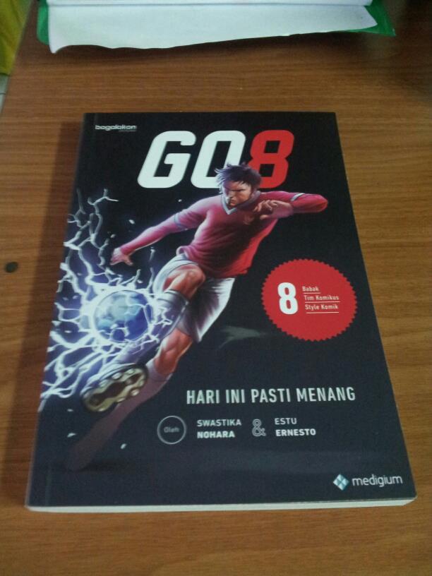 komik GO8 finale
