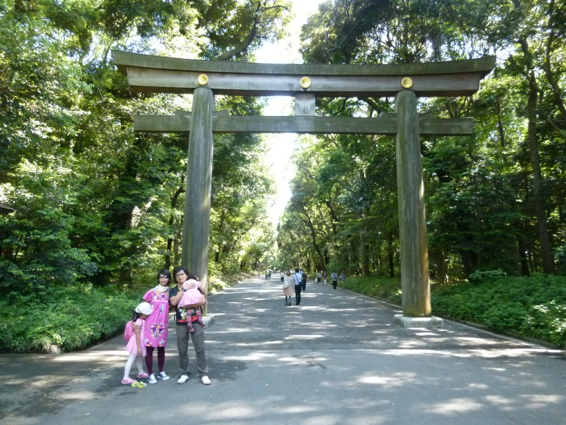 P1020827 Meiji Jingu gate