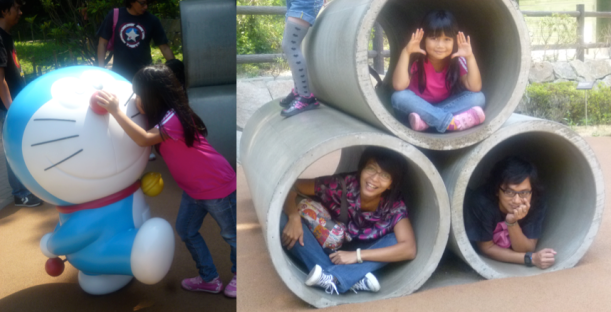 Outdoor playground di museum Doraemon
