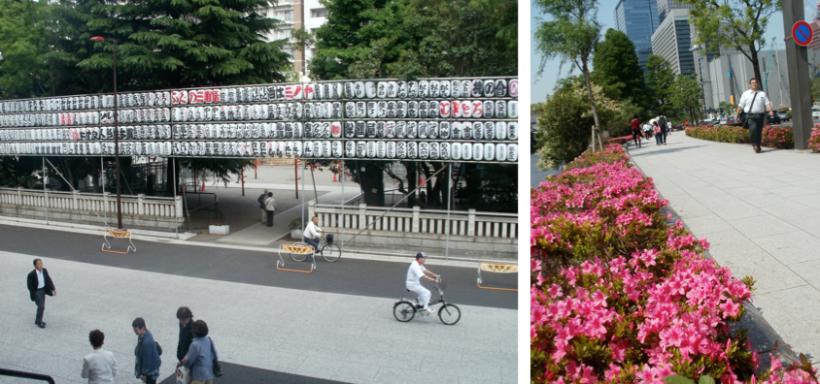 Pengin punya trotoar luas, bersih dan asri kayak gini di Jakarta