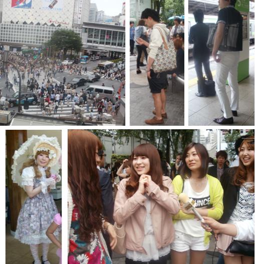 Shibuya crossing, tas cowok yg celananya putih itu aslinya bagus banget. Girls in Shibuya