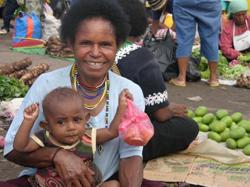 Pasar Kalibobo, Nabire - Kami Bahagia