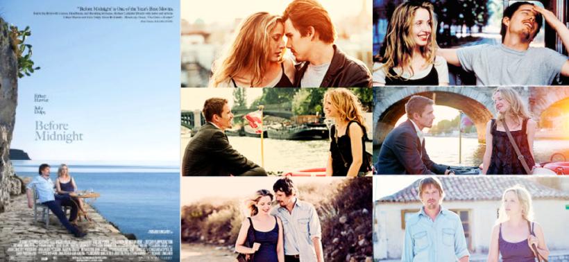 Trilogi yang sukses & konsisten. Transisi dari film Before Sunrise, Before Sunset hingga Before Midnight.