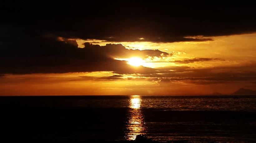 Atambua sunset tanjung bastian