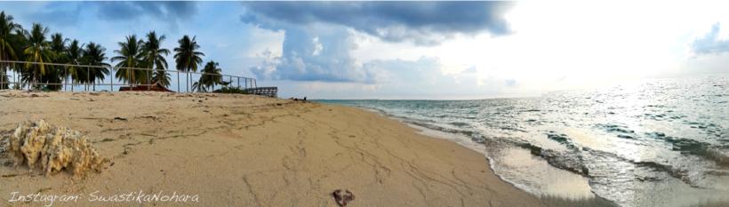 derawan beach wide