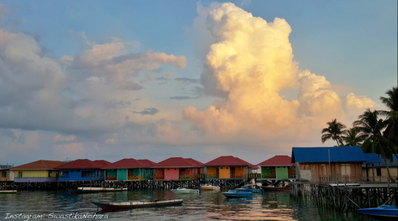 derawan morning wide