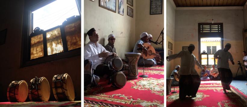 Kampung Arab Al Munawar tari Zapin