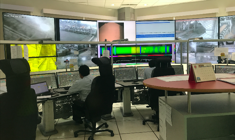 indocement control room